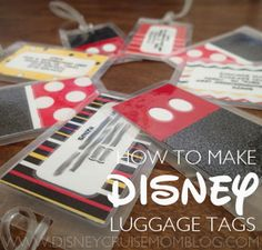 Disney character luggage tags clipart svg transparent library Disney Luggage Tags | Do it yourself | Pinterest | Disney, We and ... svg transparent library