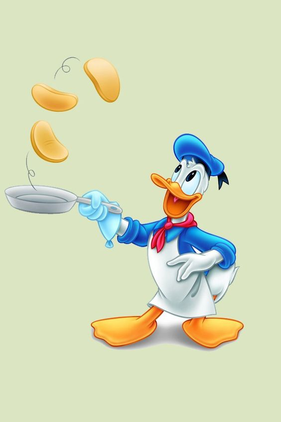 Clipartfest baby mickey donald. Disney character making pancakes clipart