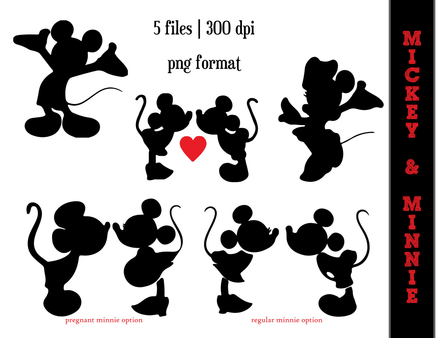 Disney character silhouette clip art picture freeuse Disney Couple Silhouette Clipart - Clipart Kid picture freeuse