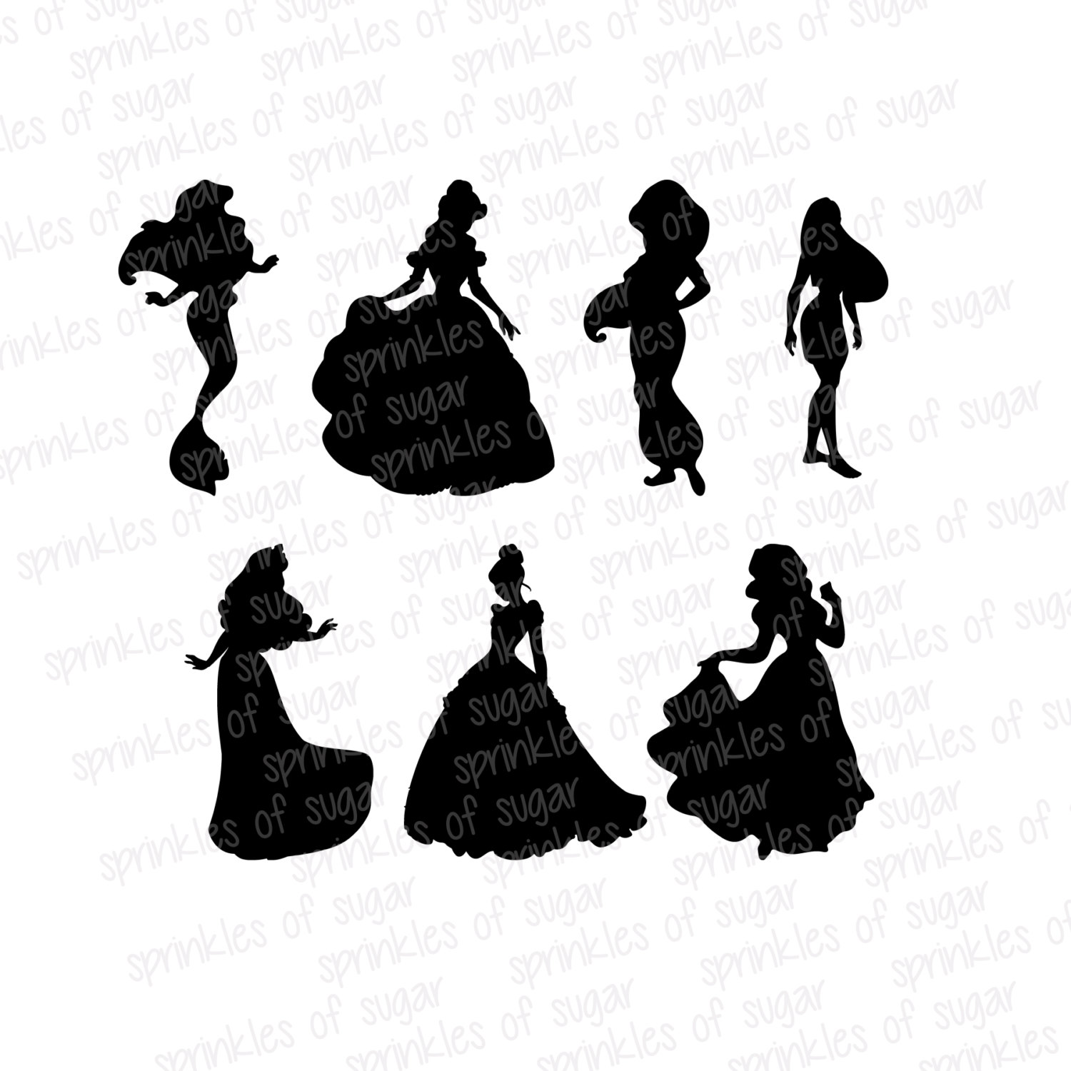 Disney character silhouette clip art. Free silhouettes clipart clipartfest