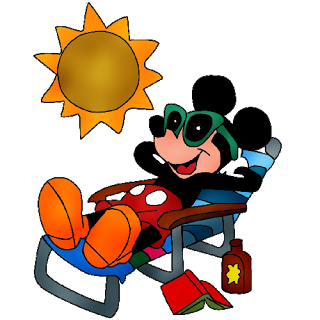 Disney character tourist clipart. Sun clipartfest mickeymouseholiday on