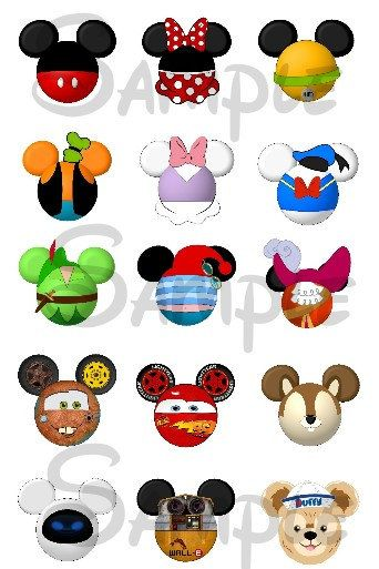 images about inspired. Disney character with mickey bar clipart