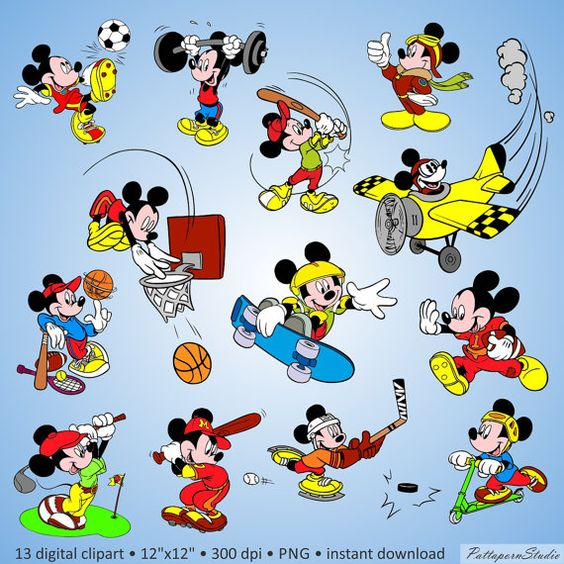 Clipartfest digital mouse . Disney character with mickey bar clipart