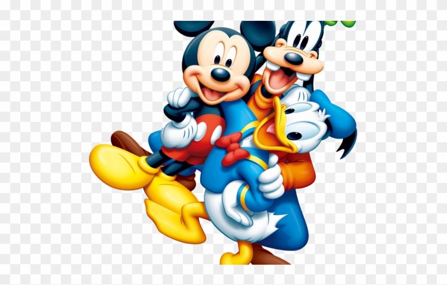 Disney characters cliparts image transparent Disney World Characters Clipart - Mickey Mouse Disney Png ... image transparent