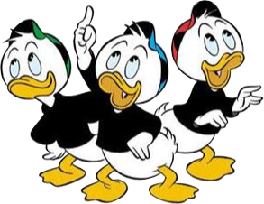 Disney christmas huey lewy and dewy clipart clipart royalty free Huey, Dewey, and Louie - Wikipedia clipart royalty free