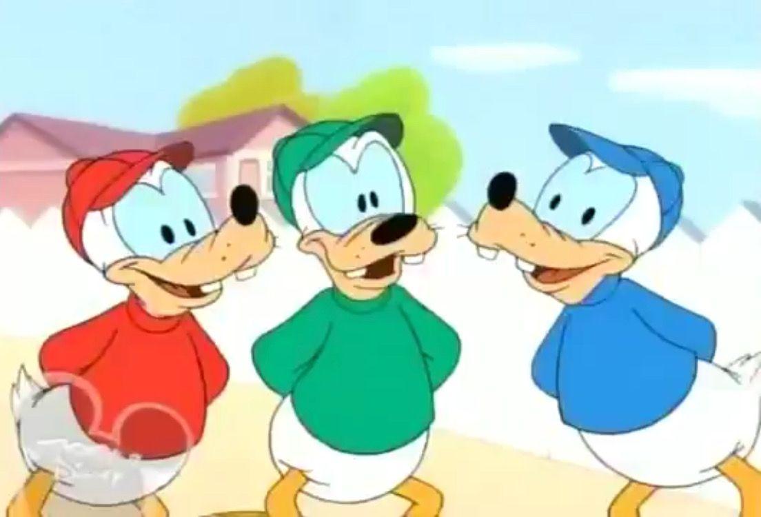 Disney christmas huey lewy and dewy clipart jpg royalty free download Hoofy, Doofy and Loofy (Huey, Dewey and Louie) | Huey, Dewey and ... jpg royalty free download