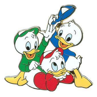 Disney christmas huey lewy and dewy clipart svg library stock Huey, Dewey and Louie | Disney Pins | Disney, Disney pins, Disney ... svg library stock
