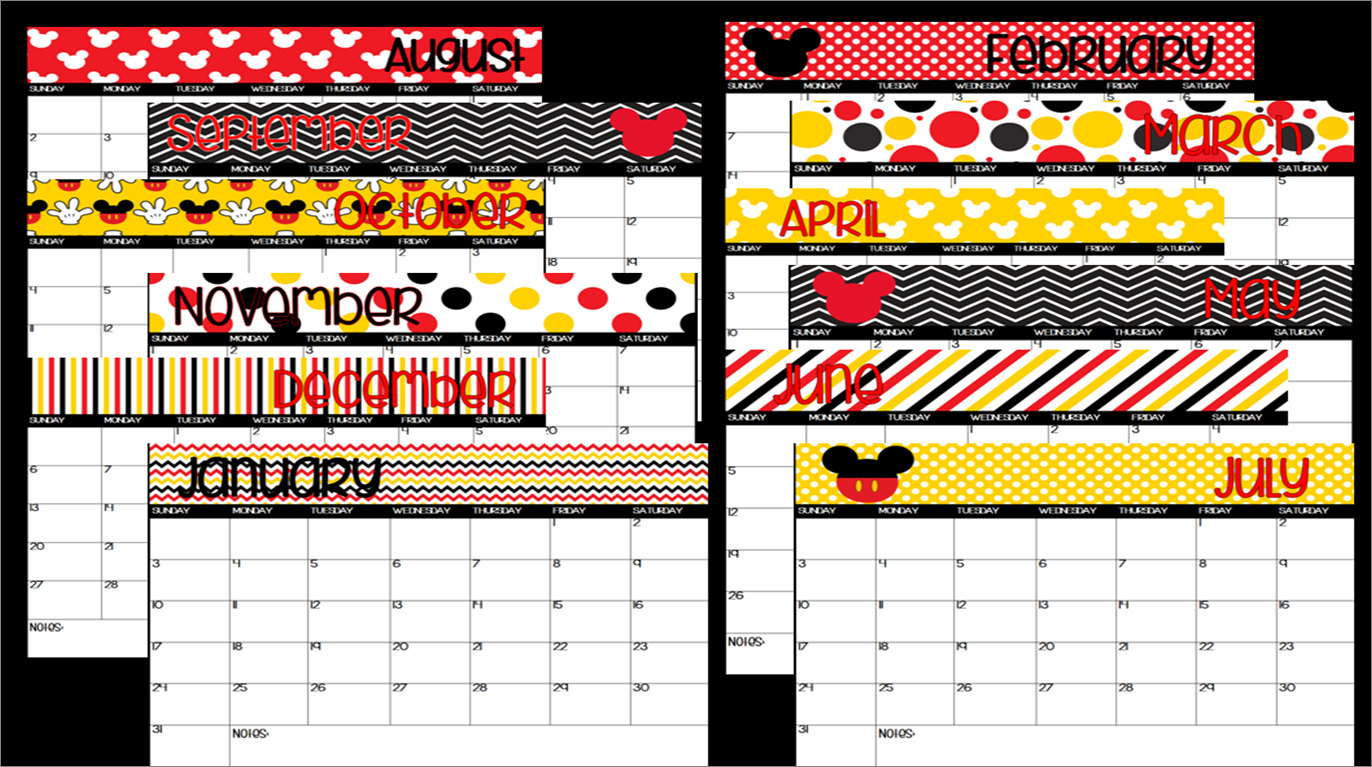 Clipartfest . Disney clipart calendar 2016