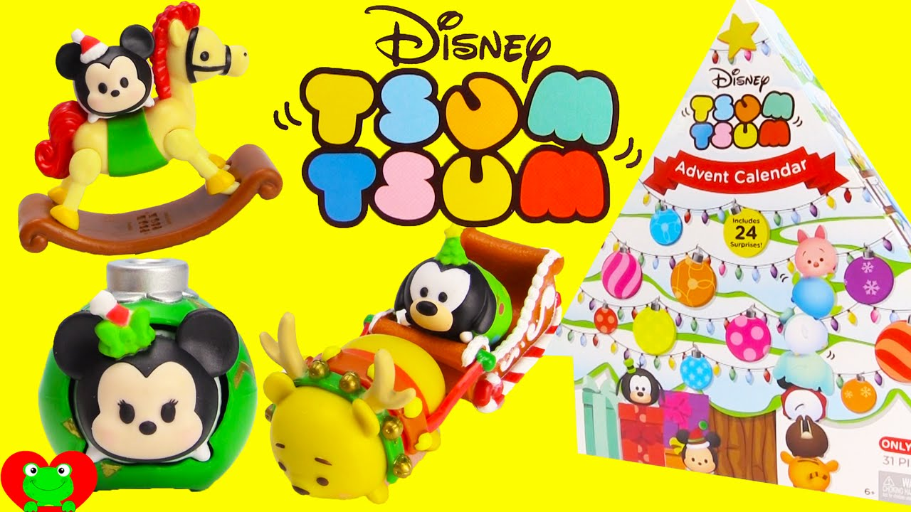 tsum advent surprises. Disney clipart calendar 2016