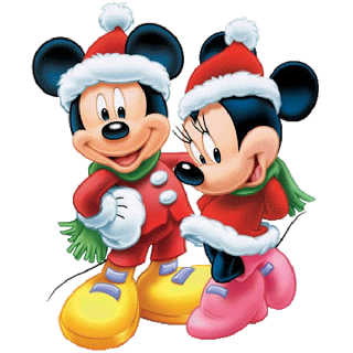 Disney clipart disney character clipart. Christmas images mickey mouse