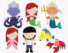 Disney clipart for commercial use graphic black and white download Prince and princess clip art 12png300dpi for commercial and ... graphic black and white download