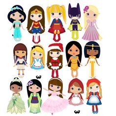 Disney clipart for commercial use banner free Prince and princess clip art 12png300dpi for commercial and ... banner free