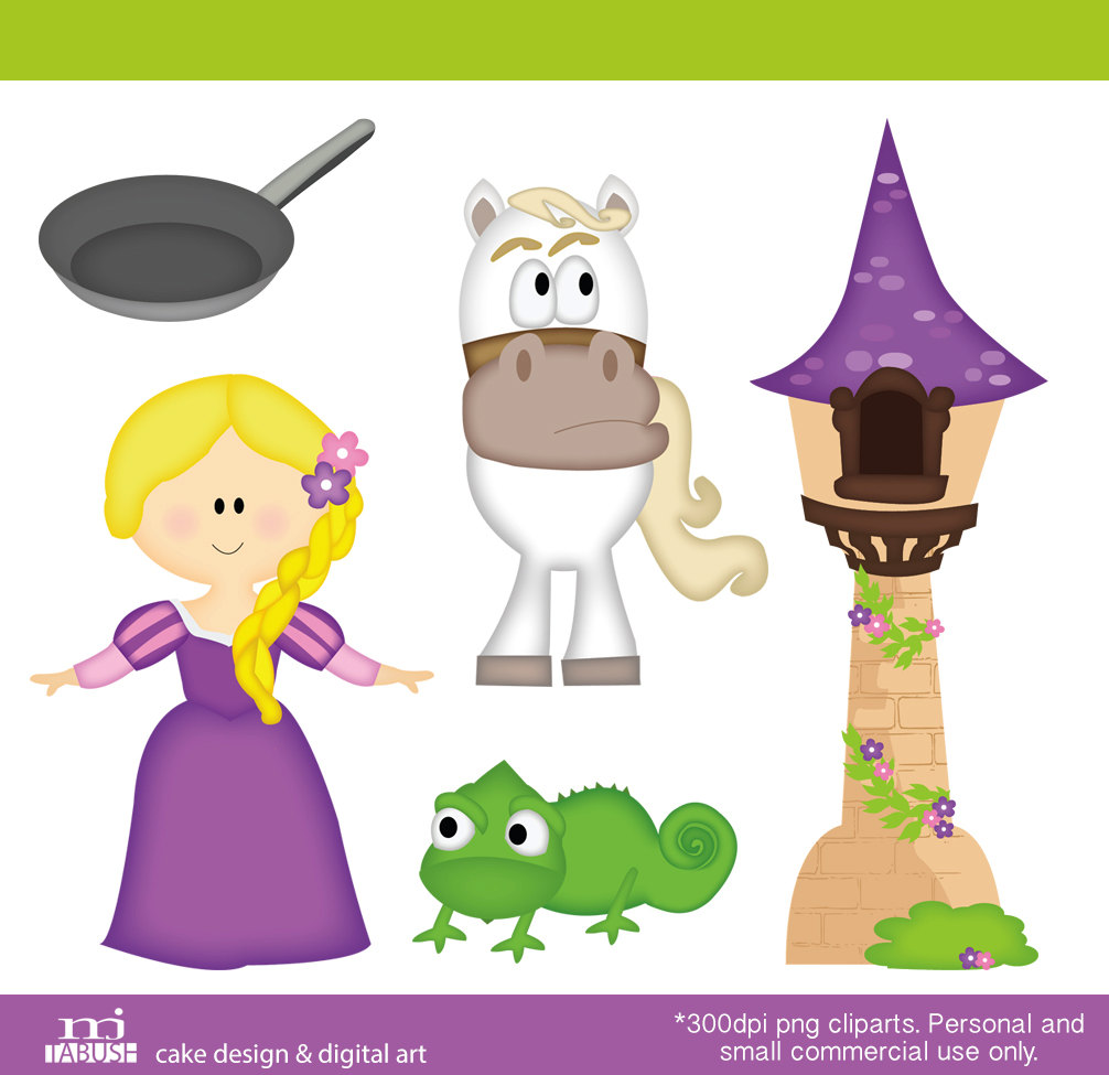 Disney clipart for commercial use jpg royalty free library $3.60 tower Princess Cliparts Personal and commercial use. $3.60 ... jpg royalty free library