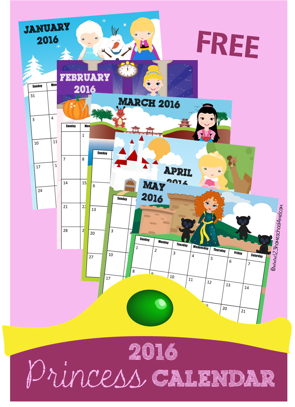 Disney clipart september calendar 2016 svg freeuse stock 8 best images of kindergarten calendar 2016 printable preschool ... svg freeuse stock