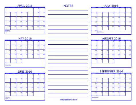 Disney clipart september calendar 2016