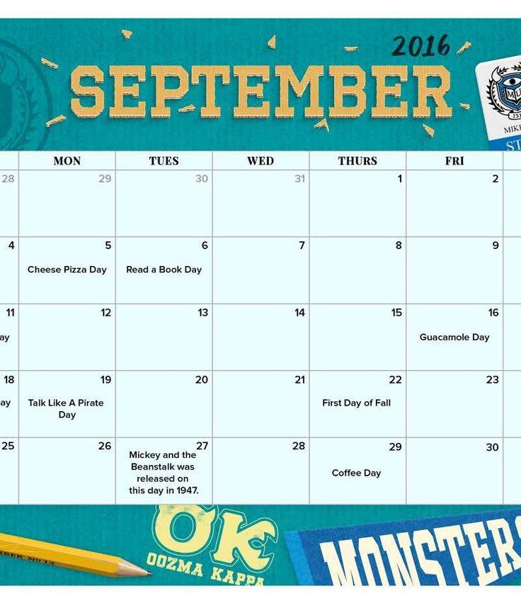 Disney clipart september calendar 2016 royalty free 17 Best ideas about 2016 September Calendar on Pinterest ... royalty free