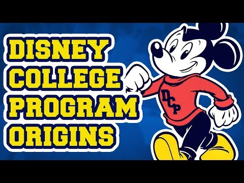 Disney college program clipart clip library stock The Origins and History of the Disney College Program clip library stock