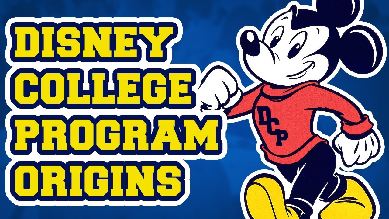 Disney college program clipart graphic black and white library The Origins and History of the Disney College Program graphic black and white library
