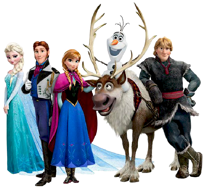 Kid group. Disney frozen clipart character images