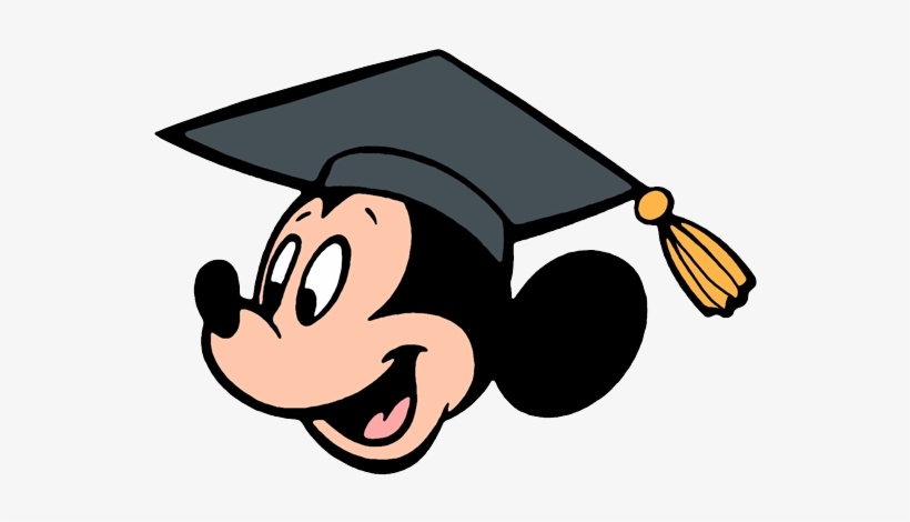 Disney graduation clipart picture library download Pin Disney Graduation Clipart - Mickey Mouse Graduation Clip ... picture library download