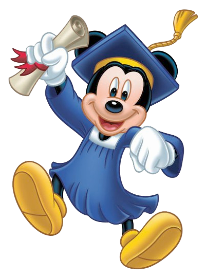 Disney graduation clipart clipart black and white download Minnie & Mickey│Mouse - #Minnie - #Mickey | Mickey and ... clipart black and white download