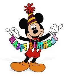 Disney happy birthday clipart banner black and white download Disney happy birthday clipart 5 » Clipart Portal banner black and white download