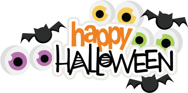 Happy halloween clipart font graphic free stock Happy Halloween Images, Halloween pictures | GlendaleHalloween graphic free stock