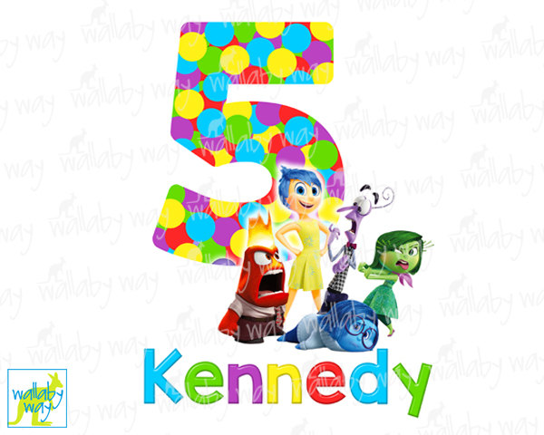 Birthday mom of the. Disney inside out clipart