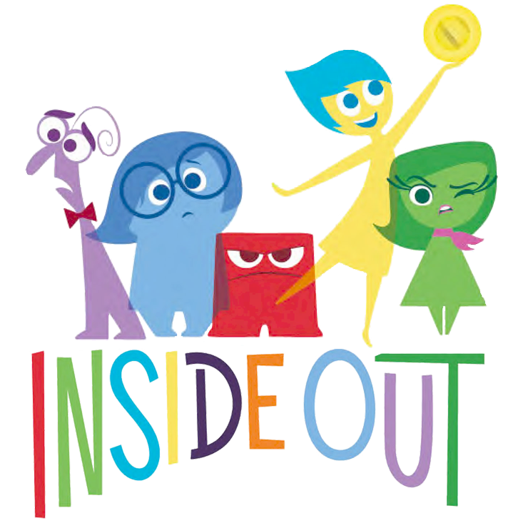 Inside out characters clipart png free stock inside-clipart-insideoutlogo2.png (733×733) | birthday | Pinterest ... png free stock