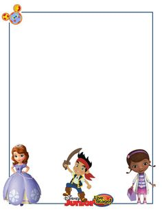 Disney junior clipart banner royalty free download 112 Best Disney Junior images in 2019 | Pirate party, Printable ... banner royalty free download