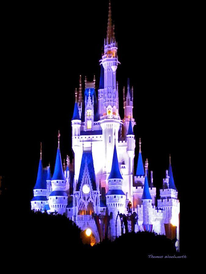 Disney kingdom clipart vector free stock Disney World Castle Clipart - Clipart Kid vector free stock