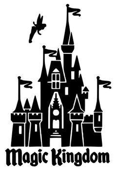 Disney kingdom clipart simple clipart freeuse 17 Best ideas about Disney Castle Silhouette on Pinterest | Disney ... clipart freeuse