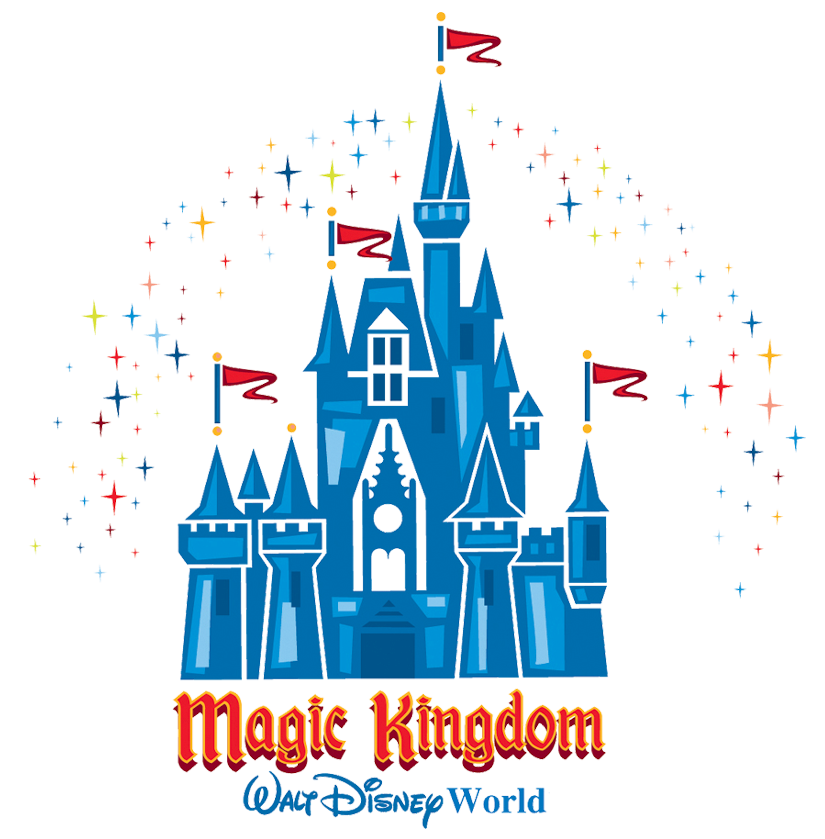 Magic kingdom disney world clipart