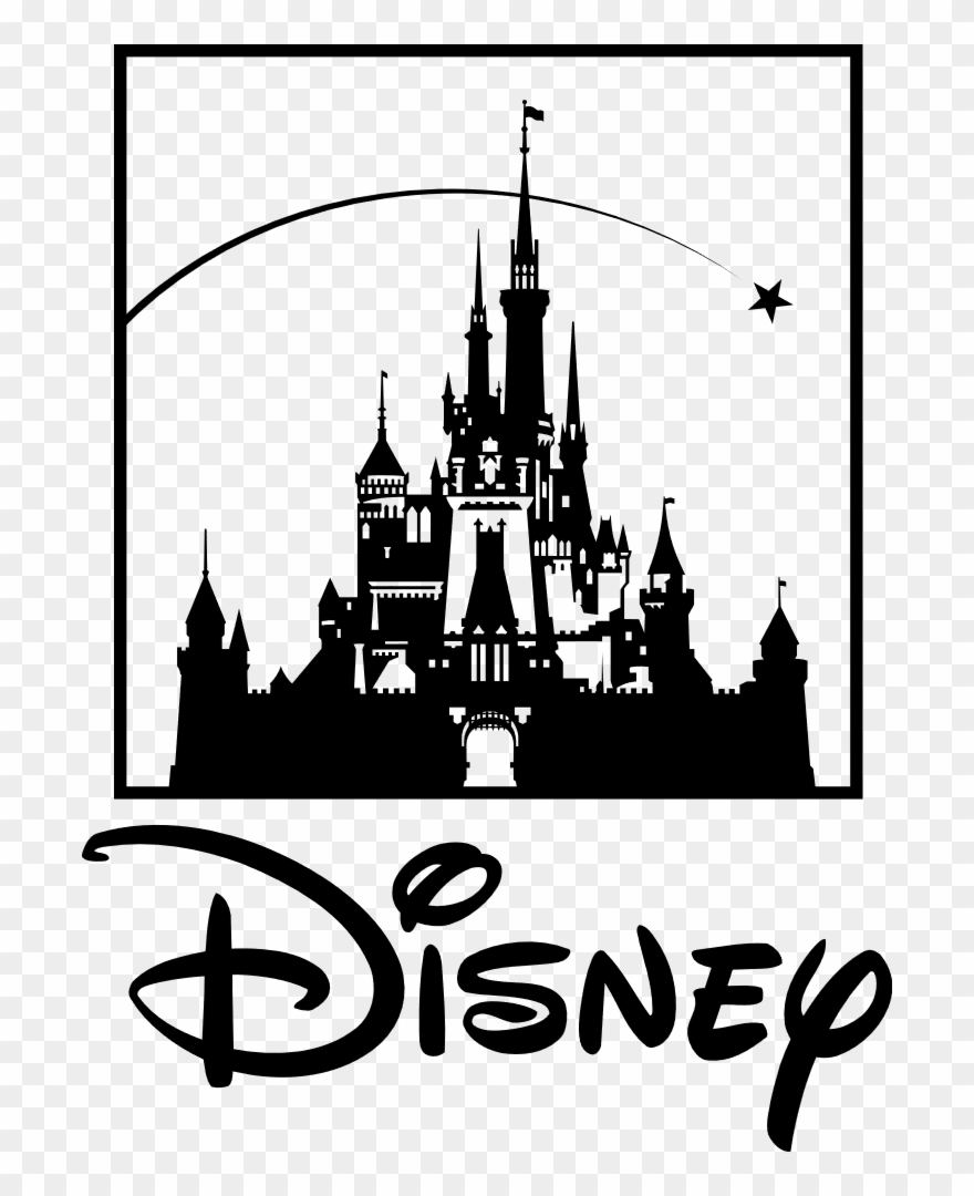 Disneylogo clipart image royalty free library Walt Disney Pictures Logo - Disney - Castle - Macbook - Decal ... image royalty free library