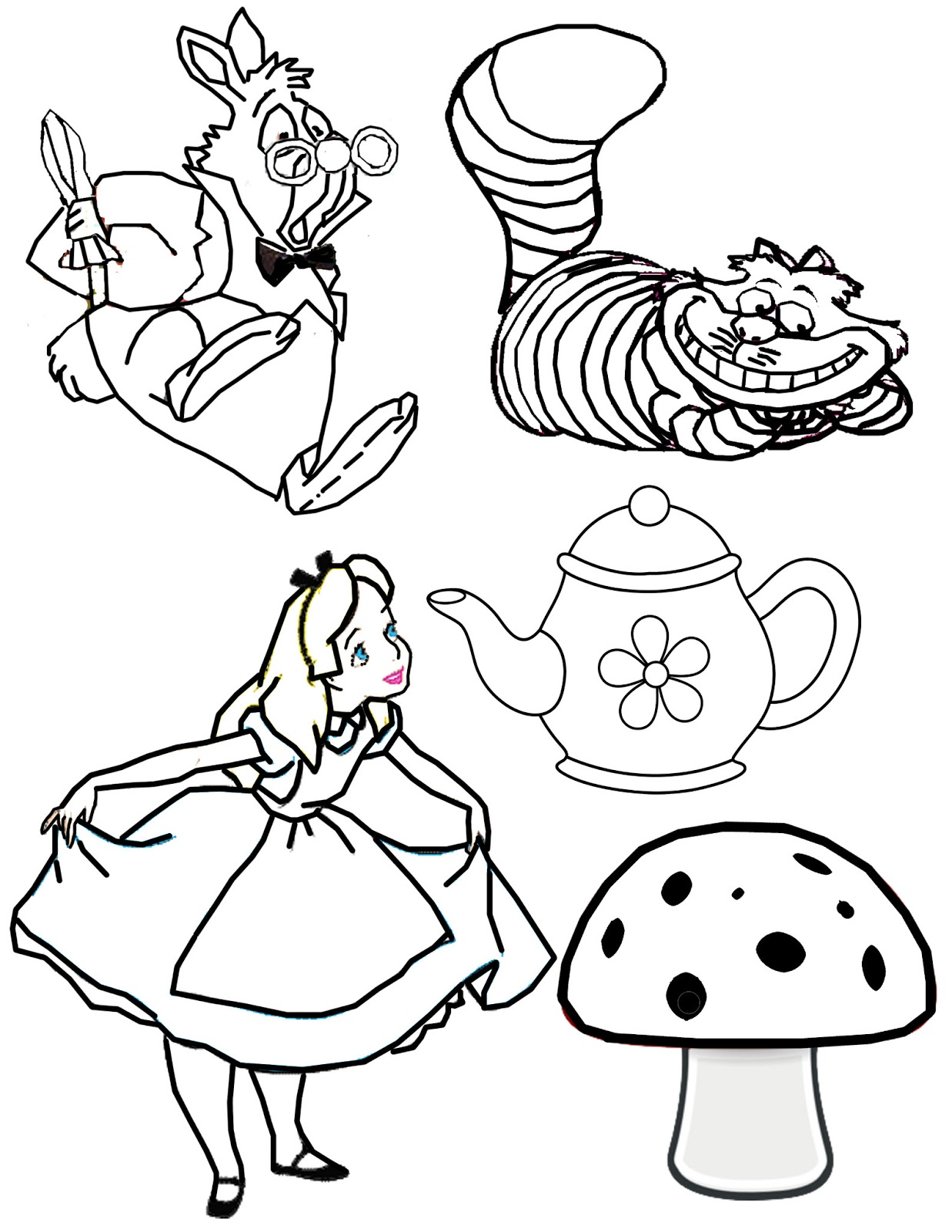 Clipartfox clip art tea. Disney mad character clipart