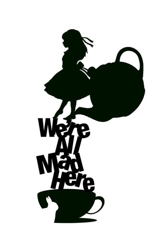 Were all here vinyls. Disney mad hatter black and white clipart