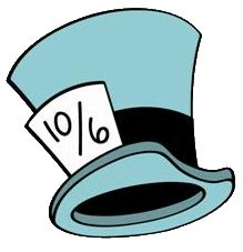 Disney mad hatter black and white clipart. Hat painting pinterest back