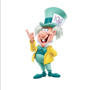 Disney mad hatter clip art.  images about alicia
