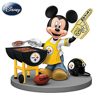 Disney mickey grilling clipart svg transparent Download disney mickey mouse figurine: pittsburgh steelers fired up ... svg transparent