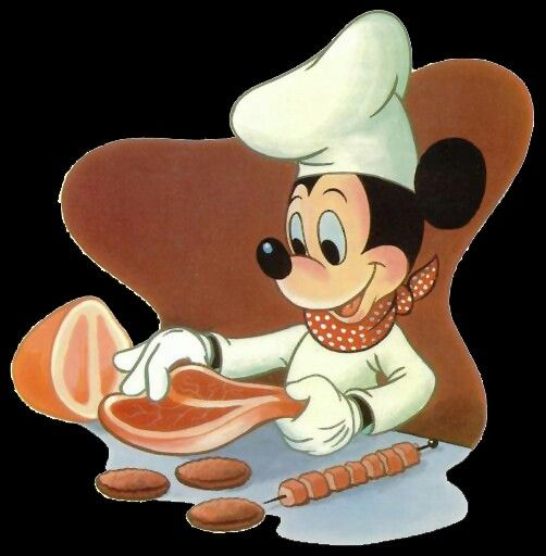 Disney mickey grilling clipart clip stock Chef mickey grilling by tink | Disney variety #3 | Mickey mouse ... clip stock