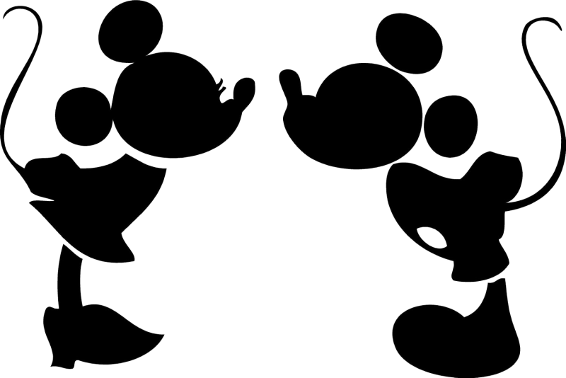 Minnie mouse crown ears clipart image freeuse Mickey Mouse Head Silhouette Clip Art at GetDrawings.com | Free for ... image freeuse