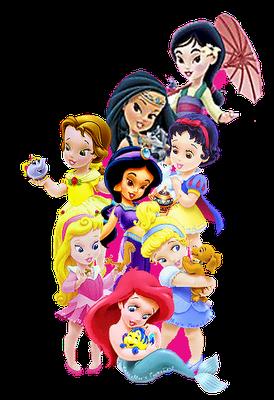 Disney princes babies clipart clipart black and white Baby disney princess clipart - ClipartFest clipart black and white
