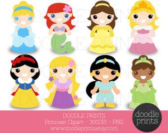 Disney princes babies clipart svg transparent Printable disney princess clipart - ClipartFest svg transparent
