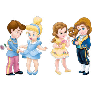 Disney princes babies clipart jpg free download Baby Clipart - Polyvore jpg free download
