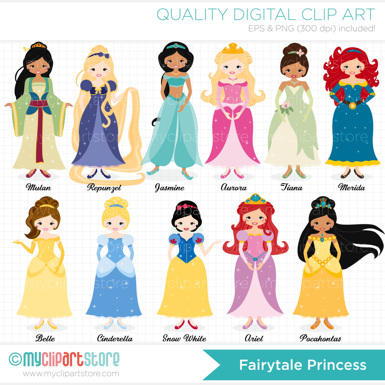Disney princes clipart svg black and white Disney princess dresses clipart - ClipartFest svg black and white