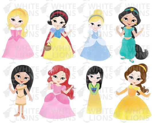 Disney princes clipart clip free stock Princess clipart etsy - ClipartFest clip free stock