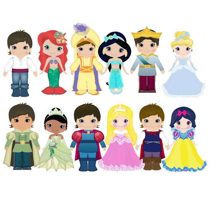 Disney princes clipart clipart freeuse stock Disney prince and princess clipart - ClipartFest clipart freeuse stock