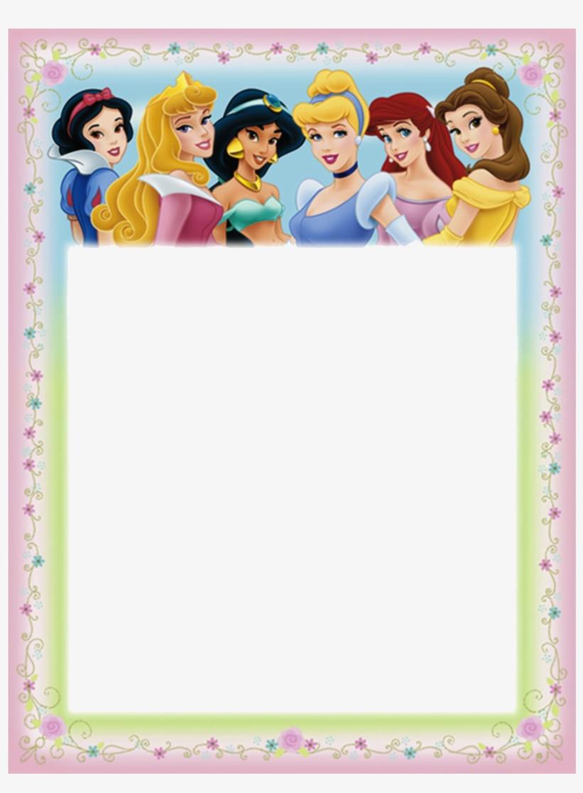 Disney princess clipart borders picture transparent Download Disney Princess A4 Border Clipart Disney Princess PNG Image ... picture transparent