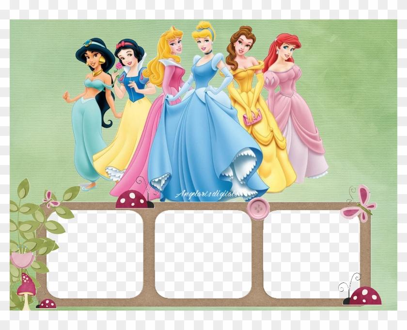 Disney princess clipart borders picture freeuse stock Disney Digital Frames Borders - Disney Princess Frames And Borders ... picture freeuse stock