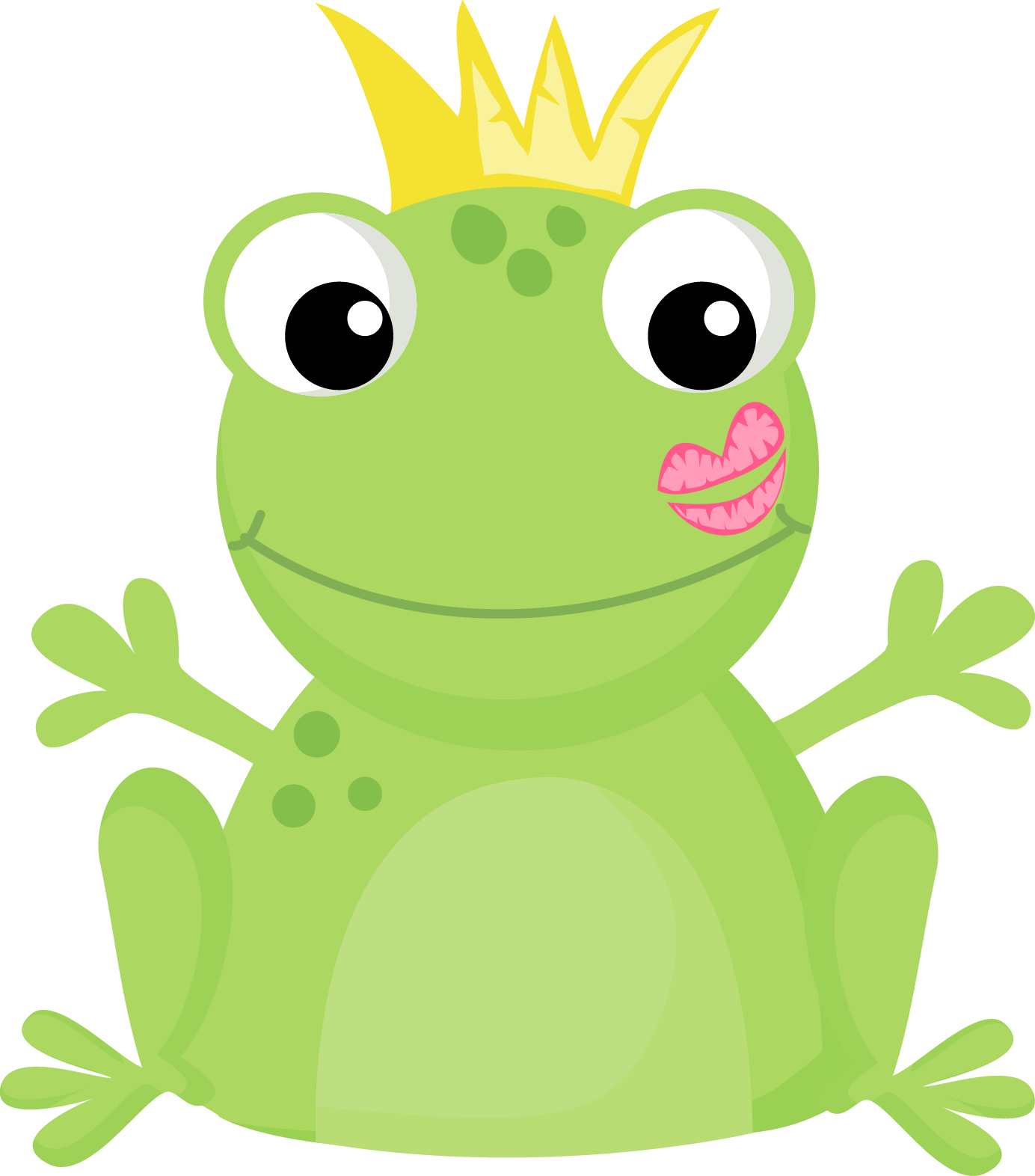Disney the princess and frog crown clipart vector library download 28+ Collection of Cute Frog Prince Clipart | High quality, free ... vector library download